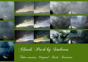 Clouds stock pack by Simbores