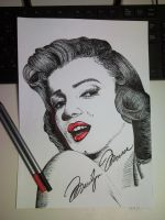 Marilyn Monroe by LucaDeBoa