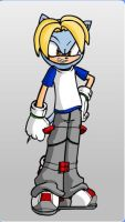 Jack Swagger as a Sonic Chara by Gurahk2