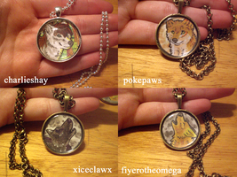 Necklaces batch 2 by thelunacy-fringe