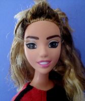Rose Tyler Doll 3 Close up by catlara
