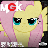 MGK / Ester Dean - Invincible (Fluttershy) by AdrianImpalaMata