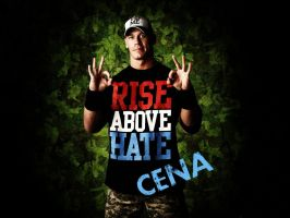 john cena rise above hate by AyeshMantha