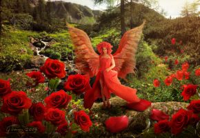 Rose Fairy by FeriAnimations