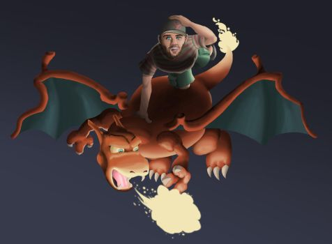 Charizard and Jesse by MHG5