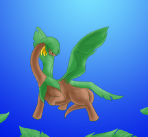 Pokeddexy 8: Tropius by Ankh-Ascendant