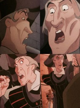 Yet another many faces of Frollo by ljaylue