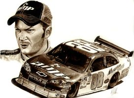 dale earhardt jr by tin23uk