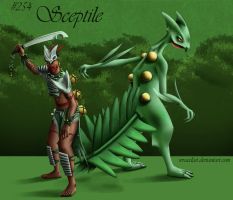 Sceptile Concept by Wraeclast