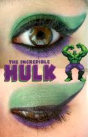 The Hulk Makeup by Steffmiesterx13