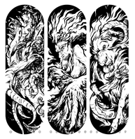 Monster Decks by grungepuppy