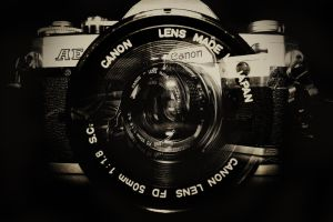 Canon AE-1 by JoostvanD