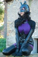 Catwoman cosplay 2 by JoyHargreaves