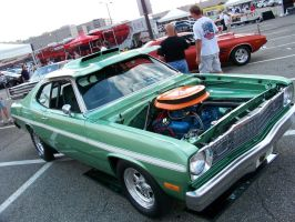 '73 Plymouth Duster by DetroitDemigod