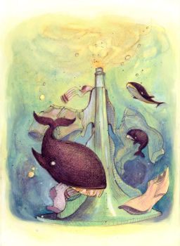 Whales In The Wash by alice-anne