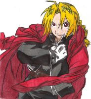 Edward Elric - Finished by BetrayedAnguish