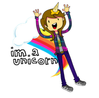 im a unicorn by M0nzteer