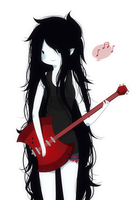 Marceline simple by BerserkNoise