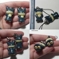 Munchlax Charms by ChibiSilverWings