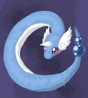 POKEDDEXY day 3 Dragonair by TheSkiesFalling