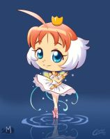 Chibi Princess Tutu by Akriel