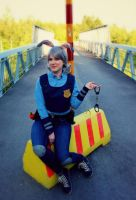 Zootopia: Police Officer Judy Hopps -cosplay 2 by Fuugis