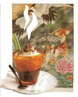 postcard - deers and coffee by Dadel