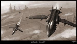 ::BLACK BEAST:: by Hideyoshi