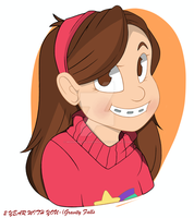 (Mabel Pine`s)-(Gravity Falls)-(Celebrate 2 Year). by MohammedAlSheihk444