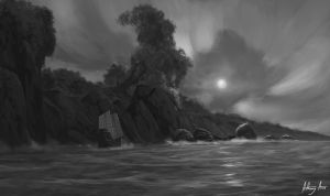 South shore sketch by AnthonyAvon