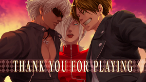 K' Ash Kyo Thank You For Play by anubis55