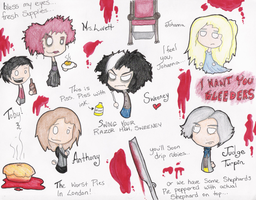 Sweeney Todd extravaganza by BloodThirstyZompire