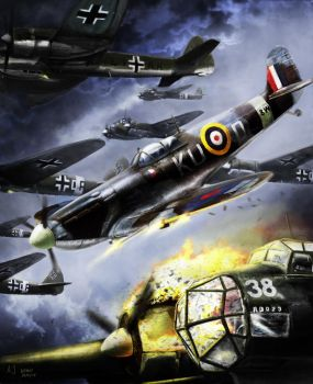 Battle of Britain by Jacopo-Art