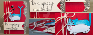 Card: It's a Spicey Meatbale by kendravixie