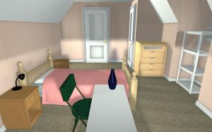 3D Room 2 by MiniLeiProductions