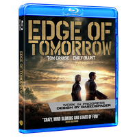 Edge of Tomorrow - Blu-ray WIP by spacer114