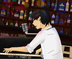 .:Piano Man:. by KatNap8181