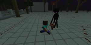 Minecraft - Enderman Basketball by Mamamia64
