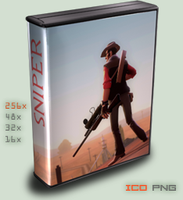 :case:Half-Life 2: TF Sniper by foxgguy2001