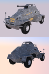Sd Kfz 221 - VK customs by CadianConcript