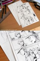 baccano pages 9 and 10 preview by Yuushin7