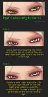 Eye Coloring Tutorial by VernCode