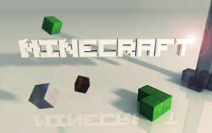 Minecraft 3D Wallpaper by GazmirZ