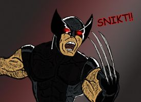 X Force Wolverine by dimebagsdarrell