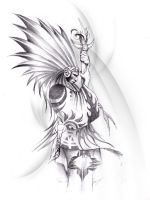 native american indian chief by NeoGzus