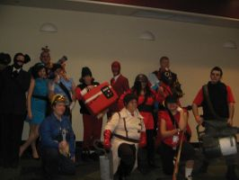 Megacon 10 TF2 Group -2- by AccursedAsche