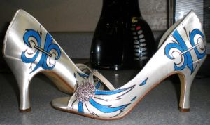 Wedding shoes by Cerpin23