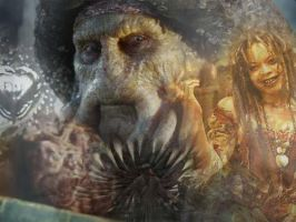 Davy Jones Collage by BehindmyMask