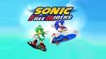 Sonic Free Riders Wallpaper by Hynotama