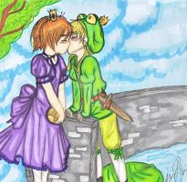 Wy-Princess and the Frog by malentia